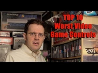 Angry Video Game Nerd: Top 10 Worst Video Game CONTROLS