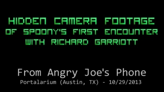 The Spoony Experiment: Hidden Camera Footage from Angry Joe's Phone