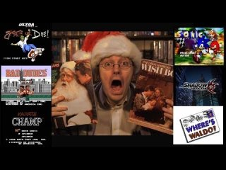 Angry Video Game Nerd: Wish List (PART 1) Sonic The Hedgehog & more!