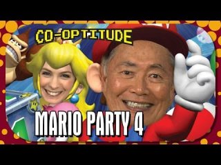 Co-Optitude: Mario Party 4 - Retro Let's Play Feat. GEORGE TAKEI: Co-Optitude Ep 26
