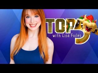 Lisa Foiles: TOP 5 GAMING GINGERS