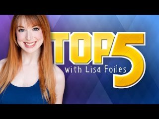 Lisa Foiles: TOP 5 RED / GREEN CHARACTERS