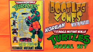Phelous: Bootleg Zones: Korean TMNT Model Kit