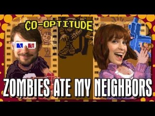 Co-Optitude: Zombies Ate My Neighbors - Retro Let's Play: Co-Optitude Ep 32