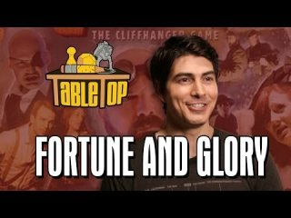 TableTop: Fortune and Glory: Brandon Routh, Felicia Day, and Ryon Day join Wil on TableTop SE2E20