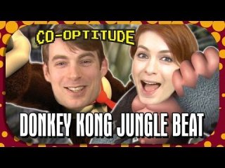Co-Optitude: Donkey Kong Jungle Beat - Retro Let's Play: Co-Optitude Ep 39
