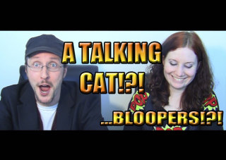 Obscurus Lupa Presents: A Talking Cat!?! ...Bloopers!?!