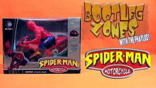 Phelous: Bootleg Zones: Spider-Man Motorcycle