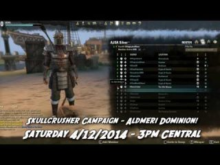 Angry Joe Show: AJSA Guild ESO PvP Event - 4/12!