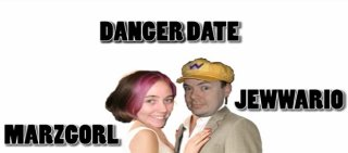 MarzGurl: DANGER DATE STARRING JEWWARIO AND MARZGORL