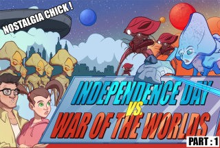Nostalgia Chick: Independence Day vs. War of the Worlds Pt. 1