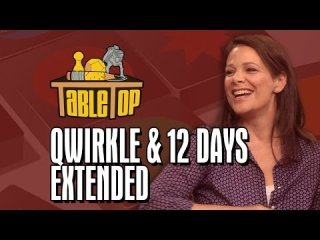 TableTop: TableTop Extended: Qwirkle and 12 Days (Kelly Hu, Wil Wheaton, Meredith Salenger, and Nolan Kopp)