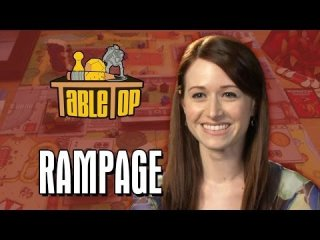 TableTop: Rampage: Neil Grayston, Ashley Clements and Miracle Laurie Join Wil Wheaton on TableTop [Livestream]