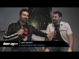 Angry Joe Show: Alien Isolation - Angry Interview E3 2014