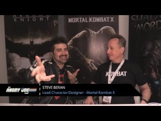 Angry Joe Show: Mortal Kombat X - Angry Interview E3 2014