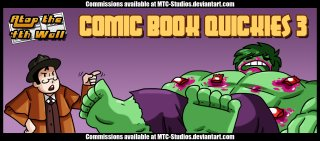 AT4W: Comic Book Quickies #3