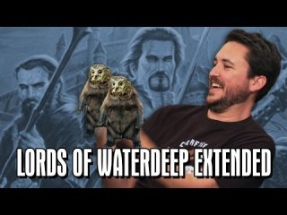 TableTop: Extended TableTop: Lords of Waterdeep (Felicia Day, Pat Rothfuss, Brandon Laatsch, and Wil Wheaton)