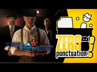 Zero Punctuation: TESLA EFFECT: A TEX MURPHY ADVENTURE
