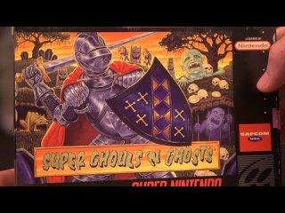 James & Mike Mondays: Super Ghouls 'n Ghosts (SNES) Part 1 -