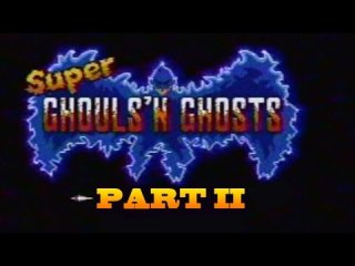 James & Mike Mondays: Super Ghouls 'n Ghosts (SNES) Part 2 -