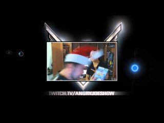 Angry Joe Show: AngryJoe BAD SANTA Christmas Special! LIVE NOW!