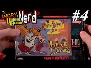 Angry Video Game Nerd: Ren & Stimpy: Fire Dogs - Episode 125