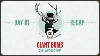 Giant Bomb: Game of the Year 2014: Day One Recap