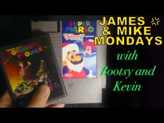 James & Mike Mondays: Super Mario X-mas ReKringled & Toyshop Trouble -