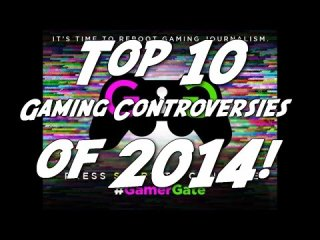 Angry Joe Show: Top 10 Gaming Controversies of 2014!