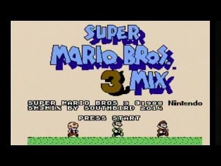 Mike Matei: Super Mario Bros. 3Mix - NES Mod review Super Mario Bros 3