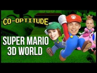 Co-Optitude: Super Mario 3D World w/ Janet Varney Let's Play: Co-Optitude Ep 77