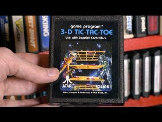 Mike Matei: 3-D Tic-Tac-Toe (Atari 2600) video game review