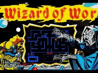 Mike Matei: Wizard of Wor (Arcade, Atari 2600, 5200) Game