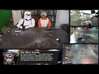 Angry Joe Show: AngryJoe Live! Star Wars Armada BATTLE TO THE DEATH!