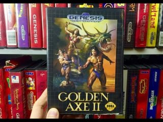 James & Mike Mondays: Golden Axe II (Sega Genesis Game)