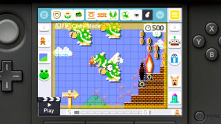 Giant Bomb: Quick Look: Super Mario Maker for Nintendo 3DS
