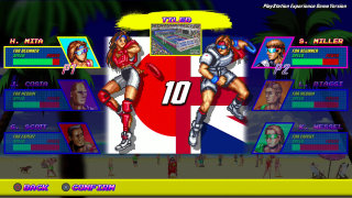 Giant Bomb: We Play Windjammers with DotEmu