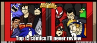 AT4W: Top 15 Comics I'll Never Review