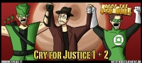 AT4W: Justice League: Cry for Justice #1 and 2